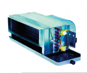 характеристики фанкойла канального типа с двухрядный теплообменником
